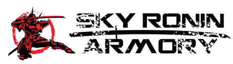 Sky Ronin Sci Fi Studio and Armory for Movies, Airsoft and Paintball Logo