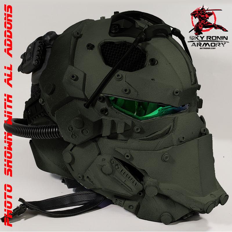 Sky Ronin Assault Helmet Sky Ronin Sci Fi Studio And
