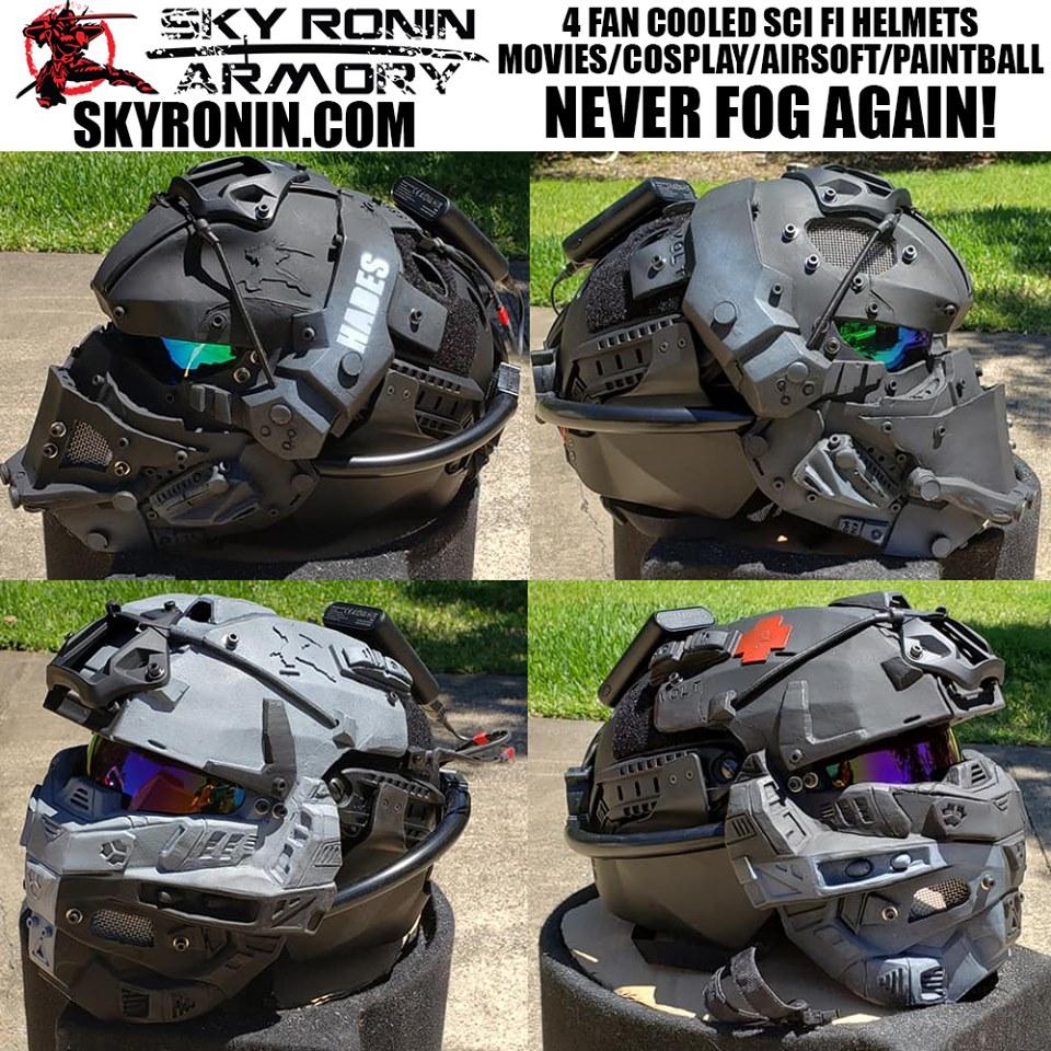 Sky Ronin Sci Fi Futuristic Airsoft Paintball Movie Prop
